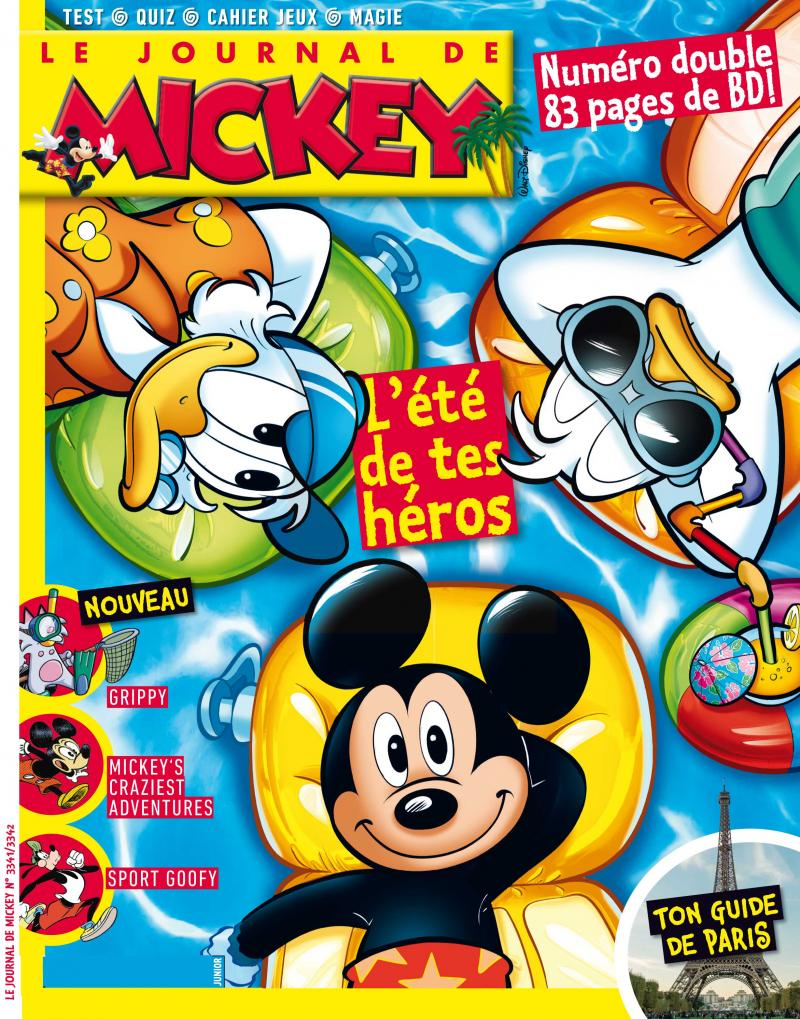 "Afficher ""Le Journal de Mickey"""
