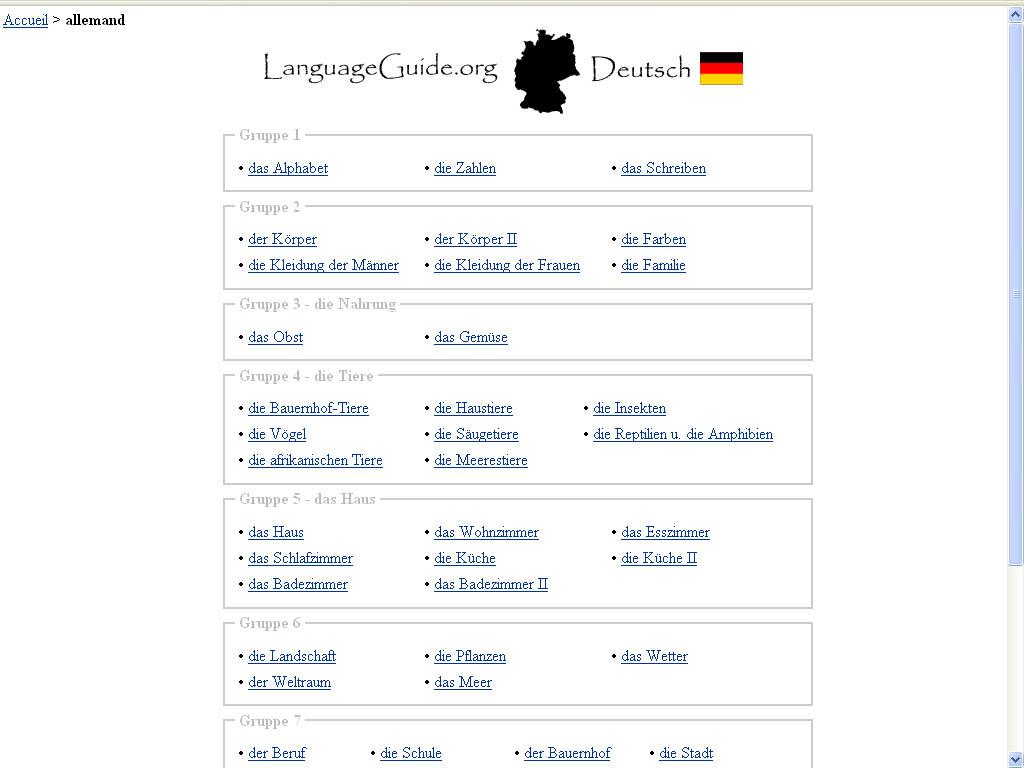 Devoir 4 allemand 2nde Allemand